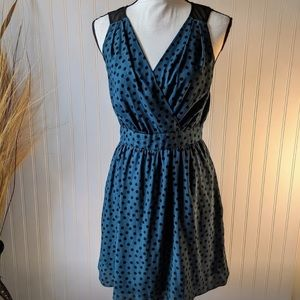 BCBGeneration Blue and Black Dress